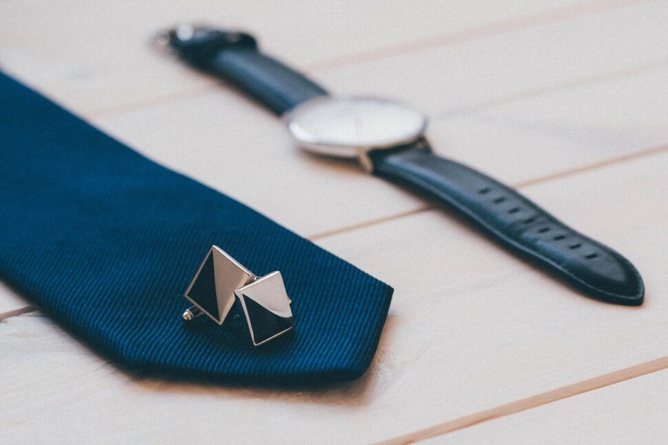 tie-watch-cufflinks