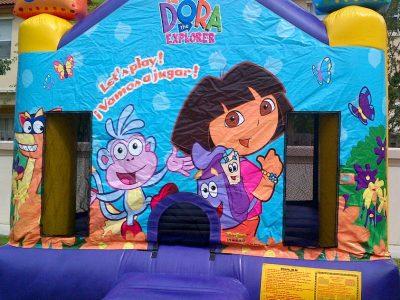 Full Face Dora Bouncer